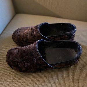 Dansko brown clogs size 41